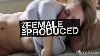 Chesty Yanks Jasmine Masturbating With An Ice Cube