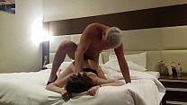 fucked a prostitute in a hotel ! hidden Cam (part 2) cum in mouth 8 min