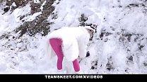 TeamSkeet - Skinny Blonde (Emma Hix) Gets Her Tight Pussy Creampied