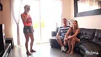 Sylvie et Tonio font une vidéo X devant la voisine excitée