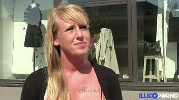 Mathilde, superbe blonde fan de sodomie, le rêve!