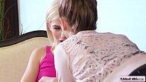 Teen babe facesitting lesbian librarian