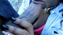 dirtydiana sucking dick in the woods and gets fucked at home