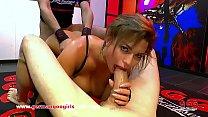 Chloe Lamour loves blowing dick and having Bukkake cumshots GermanGooGirls