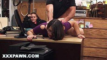 XXX PAWN - Fucking Bitch Doggy Style In Back Of Pawn Shop While Her Friend Watches Me 11 min