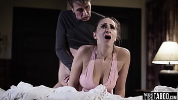 Ashely Adams loses her virginity with stepdad