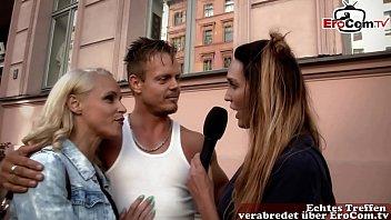 Deutsches Paar abgeschleppt und testet einen swinger club - TV reportage