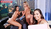 LETSDOEIT - Lucky Club Owner Has Sex With Two Delicious Big Ass Teen Babes (Kat Dior & Morgan Lee)