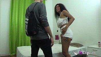 BUSTIEST Ebony Brazilian girl wants to do dirty things with her friend