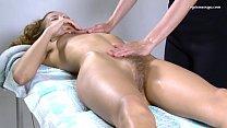 Lika Valasatik super hot hairy babe massaged 5 min