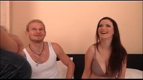 Big boobs girl show her friend how can fuck her