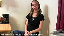 petite molly from wisconsin first time ever video