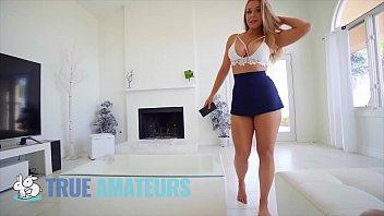 Hot blonde babe (Chelsea Vegas) bouncing her bubble - butt on bigdick - TrueAmateurs