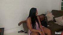 Depois da gozada dentro começa a discussão se engravidar como vai ser? Alessandra Marques - Capoeira - Big Bambu - Rob Carvalho - Jhonny Gab