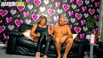 AMATEUR EURO - Curious Granny Karin A. Tries Porn For Her Very First Time