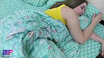 Fucked stepsister with big tits while she slept