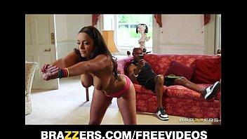 Beautiful French trainer Liza Del Sierra gets a big black cock