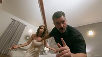Pathetic Cuck Watches Wife get Slammed by Hung Police Officer - FULL SCENE