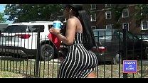 Phat Bubble Butt in Black skirt !!! ATLANTA24HOURS.COM