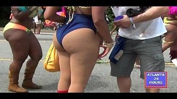 Big Booty Ebony in Atlanta Caribbean Carnival !!!
