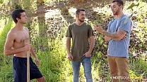 NextDoorBuddies - Stepbrothers Seduce New Neighbor