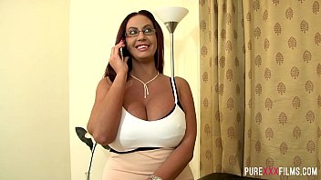Big tits wife calls a cock to fuck her