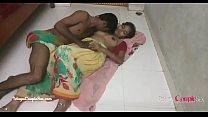 hindi telugu village couple making love passionate hot sex on the floor in saree