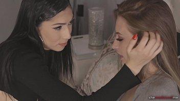 She Seduced Me: Seducing My Straight Roommate - Judy Jolie & Kyler Quinn 15 min