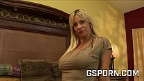 Sexy blonde milf fucked hard in all her holes 22 min