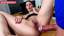 LETSDOEIT - #Coco Kiss - Sexy Teen Secretary Gets Her Wet And Horny Pussy Sutffed Hard Right At Work