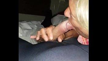 pantyhose handjob and blowjob