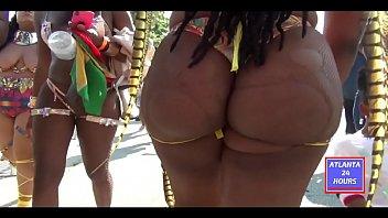Phat Bubble Butt at Atlanta Carnival Parade  !!! ATLANTA24HOURS.COM