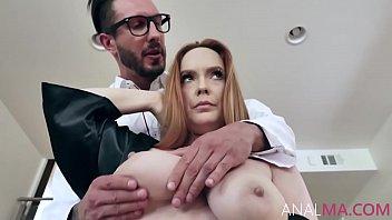 Busty Redhead MILF's Rectal Examination- Summer Hart