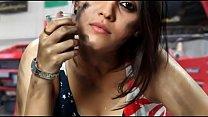 Actress Surabhi Hot Cleavage Show