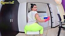 MAMACITAZ - #Otalia Barrios - Homemade POV Sex With A Big Booty Latina Maid 14 min
