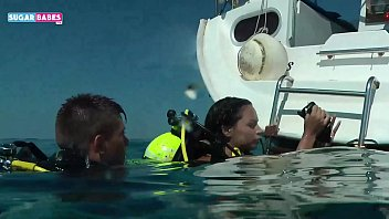 SUGARBABESTV: Underwater Greek porn