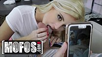 All Natural Cute Blonde (Victoria Steffanie) Fills All Her Holes With A Big Cock POV - MOFOS 12 min