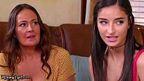 MommysGirl Emily Willis Learns How To Squirt In A Lesbian Threesome With Her Two Stepmoms