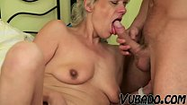 Hot Stud And The Blonde MILF