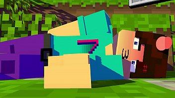 Steve em busca do diamante perdido(Livia X Steve) [Porno de Minecraft]