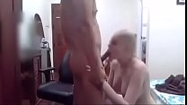 Russian blonde whore fuck by Asian man