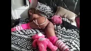 Hot pink teddy