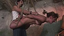Perfect BDSM. Part  2. Sadistic gameplay, with cruel mouth fuck and cunt penetrations for Jenny. 16 min