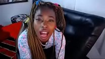 Who is this black teen anal