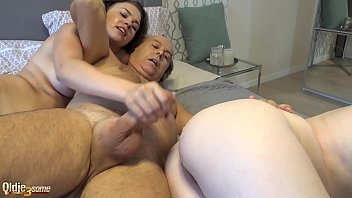 Hard double blowjob cum licking and pussy penetration 10 min