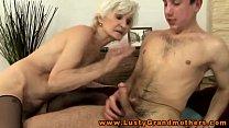 Amateur mature granny gets ravaged