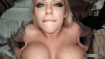 """""""I Just Wanna Make You Feel Good"""" - Big Boobed Step d. Karma Rx Takes Care Of Dad's Cock"""
