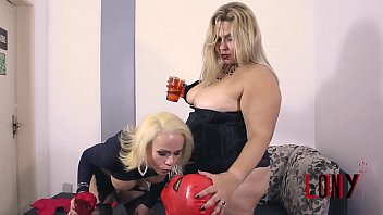 BBW Samantha Schimdt & Lohanny Brandao spit in a Sub in Pay for our beer - by Lony Fetiches