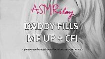 EroticAudio - ASMR Daddy Fills Me Up, ddlg, CEI 5 min