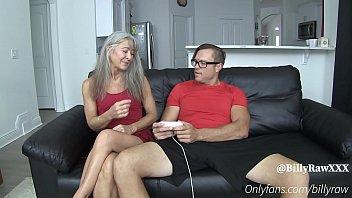 Video Gamer Son Fucks StepMom-Leilani Lei & Billy Raw
